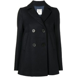 Semicouture double breasted coat - ブルー