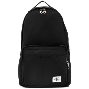 Calvin Klein Jeans logo patch backpack - ブラック