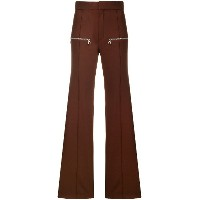 Chloé flared trousers - レッド