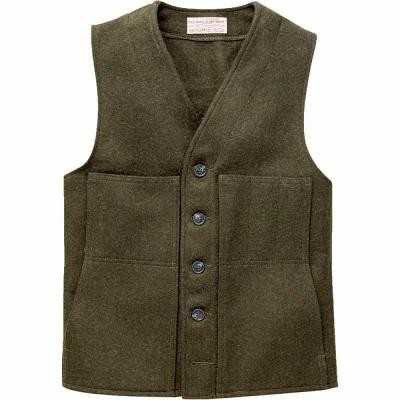 フィルソン Filson ベスト・ジレ Mackinaw Wool Vests Forest Green