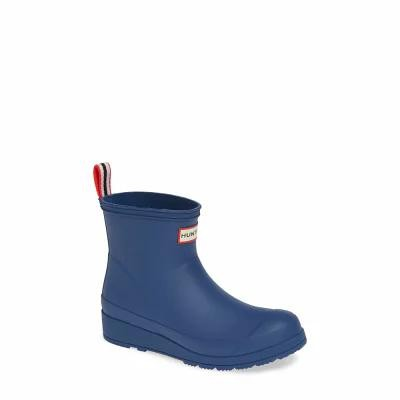 ハンター HUNTER レインシューズ・長靴 Original Play Rain Bootie Peak Blue