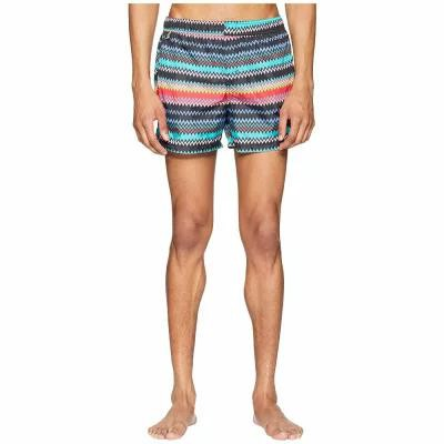 ミッソーニ Missoni Mare 海パン Mare Micro Zigzag Swim Shorts Black