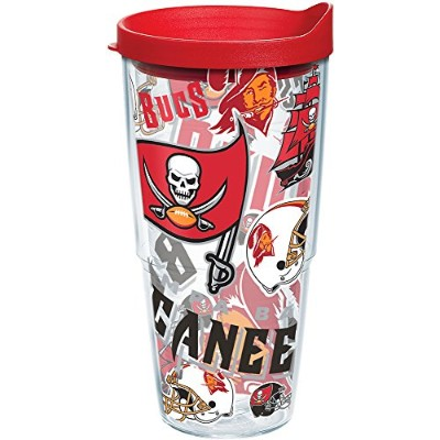 TervisタンブラーTampa Bay Buccaneers Bucs All Overラップ24オンス