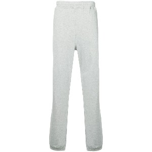 Stussy embroidered logo track pants - グレー