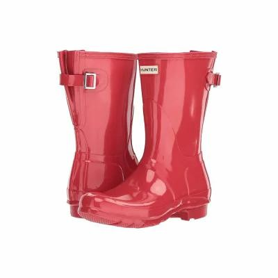 ハンター Hunter レインシューズ・長靴 Original Back Adjustable Short Gloss Rain Boots Flare