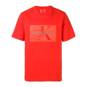 Calvin Klein Jeans ロゴ Tシャツ - レッド