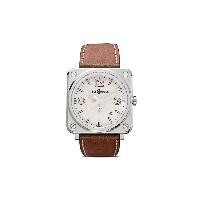 Bell & Ross BR S スティール ヘリテージ W 39mm - White And Camo