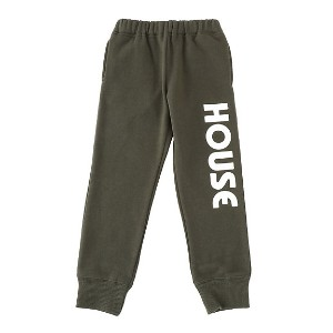 【SALE(伊勢丹)】 IN THE HOUSE  HOUSE KIDS SWEAT PANTS カーキ 【三越・伊勢丹/公式】 キッズファッション~~ボトム