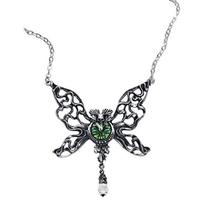 Alchemy Gothic Le Phantom Vert Necklace