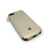 Lim`s ANTIQUE EDITION iPhone SE/5s/5用○LEIP5ABGD Gold パソコン・モバイル雑貨