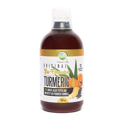 Turmeric with Ginger, Black Pepper and Multiply PLUS Probiotic Formula- 33 Servings - Restore...