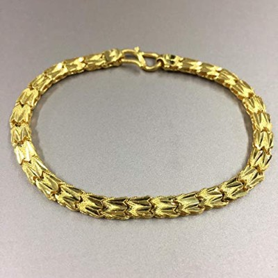 One&Only Jewellery 【K24】13g イエローゴールド デザイン ブレスレット 24金