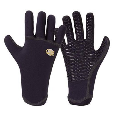 SURF GRIP WINTER サーフグリップ Q.W.R 5FINGER GLOVE グローブ 1.5mm (M)