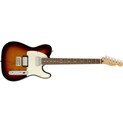 Fender エレキギター Player Telecaster® HH, Pau Ferro Fingerboard, 3-Color Sunburst
