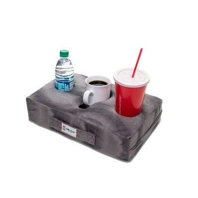 Cup Cosy Pillow (Grey)- The world's BEST cup holder Keep your drinks close and prevent spills. Use...