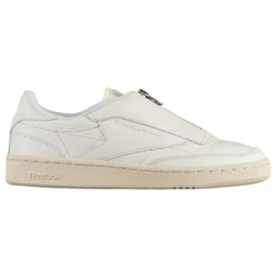 (取寄)リーボック レディース クラブ C 85 ジップ Reebok Women's Club C 85 Zip Chalk Sandstone Paper White Metallic...