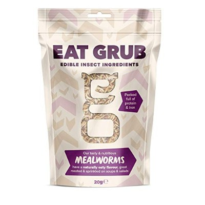 Edible Mealworms (Small/20g) (食用ミルワームSmall/20g)