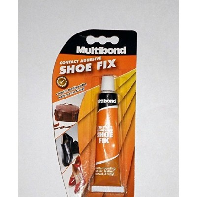 Shoe Fix Repair Contact Adhesive Glue Bonding Rubber, Leather, Canvas, Hardboard, Vinyl & Upholstery...