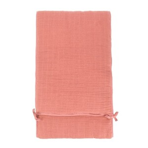 Moumout baby bed bumper blanket - ピンク