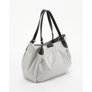 LA BAGAGERIE EMAILLER トートバッグ○B620203 アイボリー カバン・バッグ