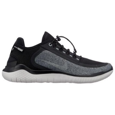 (取寄)ナイキ メンズ フリー RN 2018 シールド Nike Men's Free RN 2018 Shield Black Metallic Silver Cool Grey Vast...