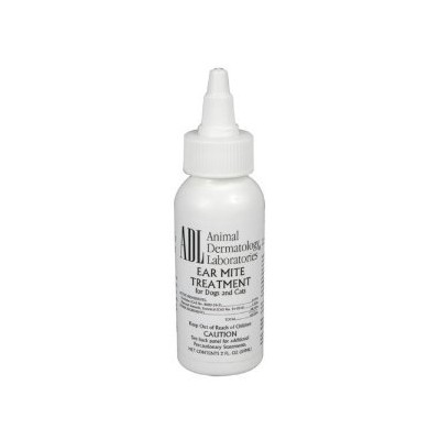 Ear Mite Treatment for Dogs & Cats - 4 ounces by Animal Dermatology