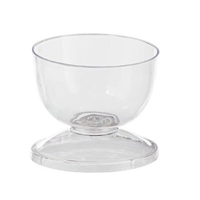 2.75 Clear Cup With Lid 20 Count by Exquisite