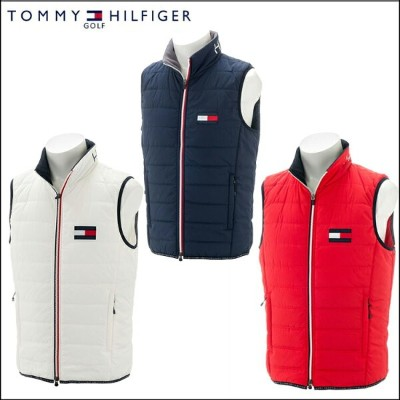 【TOMMY HILFIGER /トミーヒルフィガー】THMA8C7 FLAG PACKABLE PADDED VESTメンズ ベスト