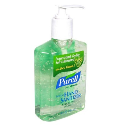 海外直送品Purell Purell Advanced Hand Sanitizer Gel With Pump Aloe, Aloe 8 oz