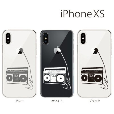 Plus-S iPhone xs ケース iPhone xs max ケース iPhone アイフォン ケース ラジカセ iPhone XS iPhone X iPhone8 8Plus...