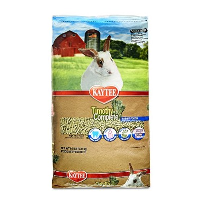 Kaytee Alfalfa Free Timothy Complete Rabbit Food, 9.5-Pound by Kaytee