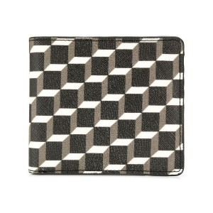 Pierre Hardy small geometric print wallet - ブラック