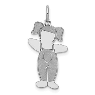 Beautiful Sterling silver 925 sterling Sterling Silver Rhodium-plated Country Side Cuddle Charm...