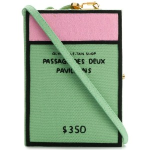 Olympia Le-Tan Passage Des Deux Pavillons clutch bag - グリーン