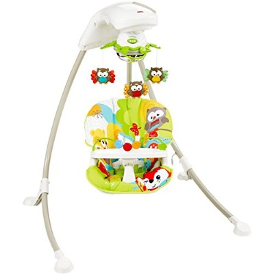 Fisher-Price Woodland Friends Cradle 'n Swing by Fisher-Price
