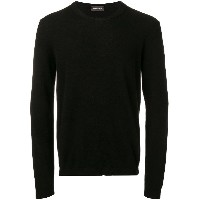 Roberto Collina long-sleeve fitted sweater - ブラック