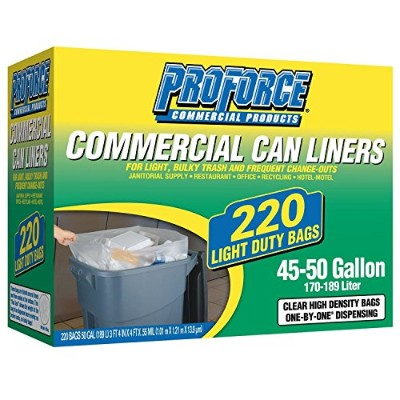 ProForce Commercial 45-50 gal. Trash Bags (220 ct.) by ProForce