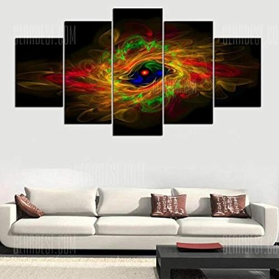 Fantasy Aurora Vortex Printed Wall Art Hanging Unframed Canvas Paintings