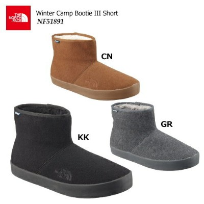 【2018 Fall&Winter】THE NORTH FACE/ノースフェイス Winter Camp Bootie III Short(ウィンターキャンプブーティー3ショート)/NF51891...