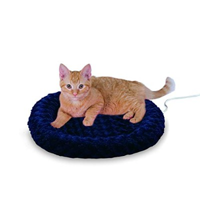 K&H Manufacturing Thermo-Kitty Fashion Splash Blue 18-Inch 4 Watts by K&H Manufacturing