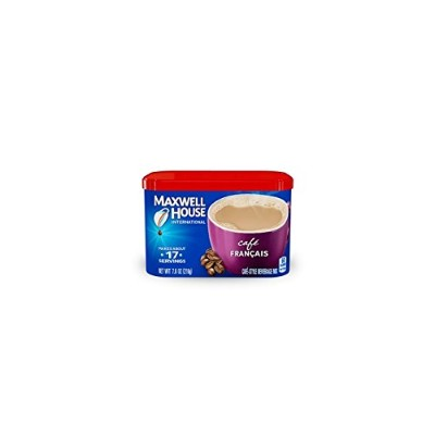 Maxwell House International Coffee Cafe Francais, 7.6-Ounce Cans (Pack of 4) by Maxwell House