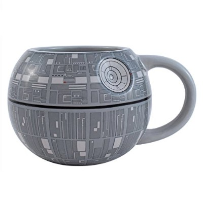 シルバーBuffalo sv9195 Star Wars Death Star 3d Sculpted Ceramic Mug , 20-ounces