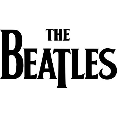 The Beatles Rock Bandビニールデカールステッカー 06 inch Wide RKBAND0029-06BK