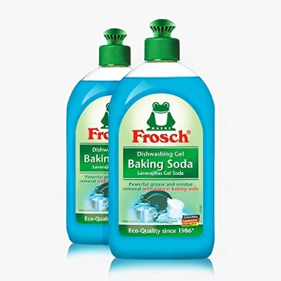 Frosch Baking Soda Liquid Washing Soap, 500 ml (Pack of 2) by Frosch