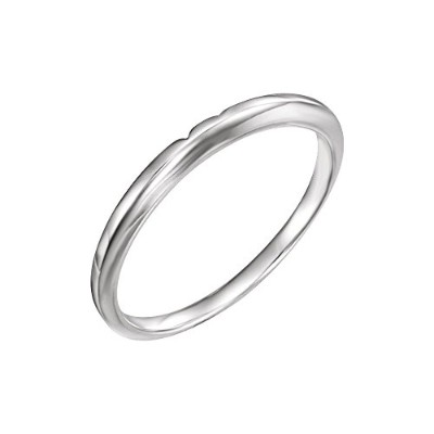 Beautiful White gold 18K White-gold Matching Band comes with a Free Jewelry Gift