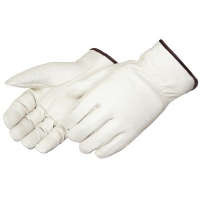Liberty 6130 Standard Grain Cowhide Leather Driver Glove with Straight Thumb, Large (Pack of 12) by...