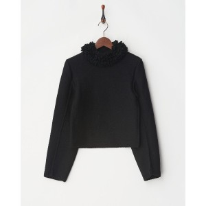 LEMAIRE KNIT○702012029 09 Black トップス