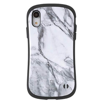 iFace First Class Marble iPhone XR ケース [ホワイト]