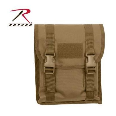 ROTHCO / ロスコ 5724 MOLLE Utility Pouch【Coyote Brown】 ポーチ / 小物入れ