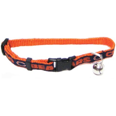 Mirage Pet Products 300-06 CT Chicago Bears Cat Collar